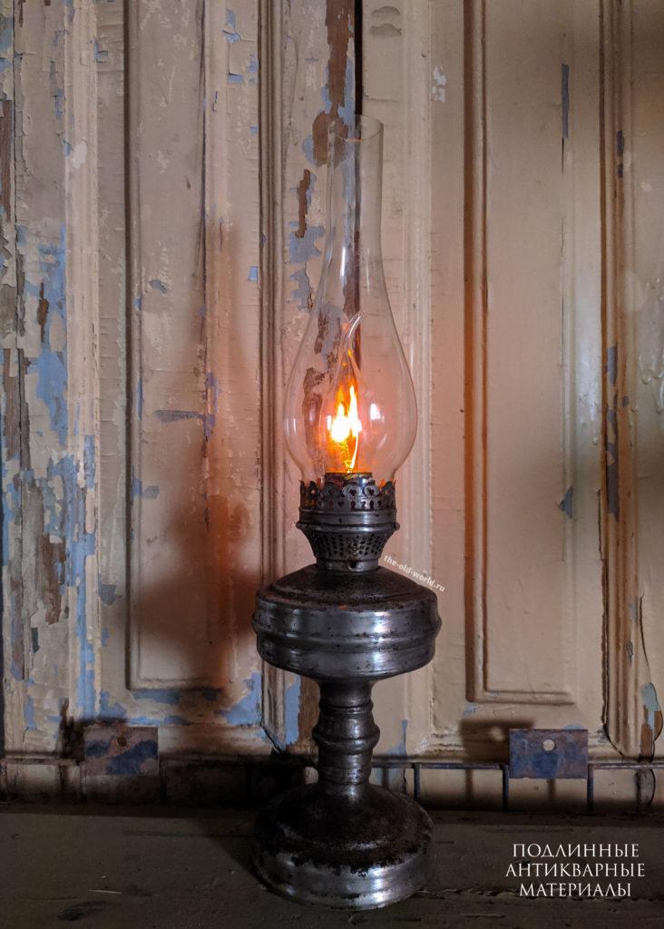 светильник керосиновая лампа 220