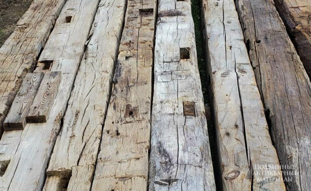 старые деревянные балки 2